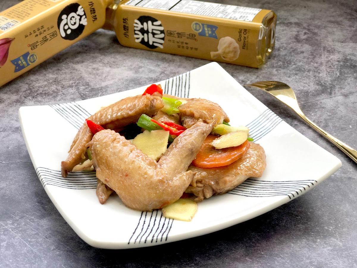 雞肉,雞肉食譜,懶人包,健身,健身料理,水炒蒜香雞翅