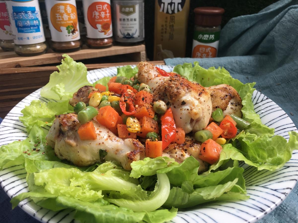 雞肉,雞肉食譜,懶人包,健身,健身料理,辛香雞肉沙拉