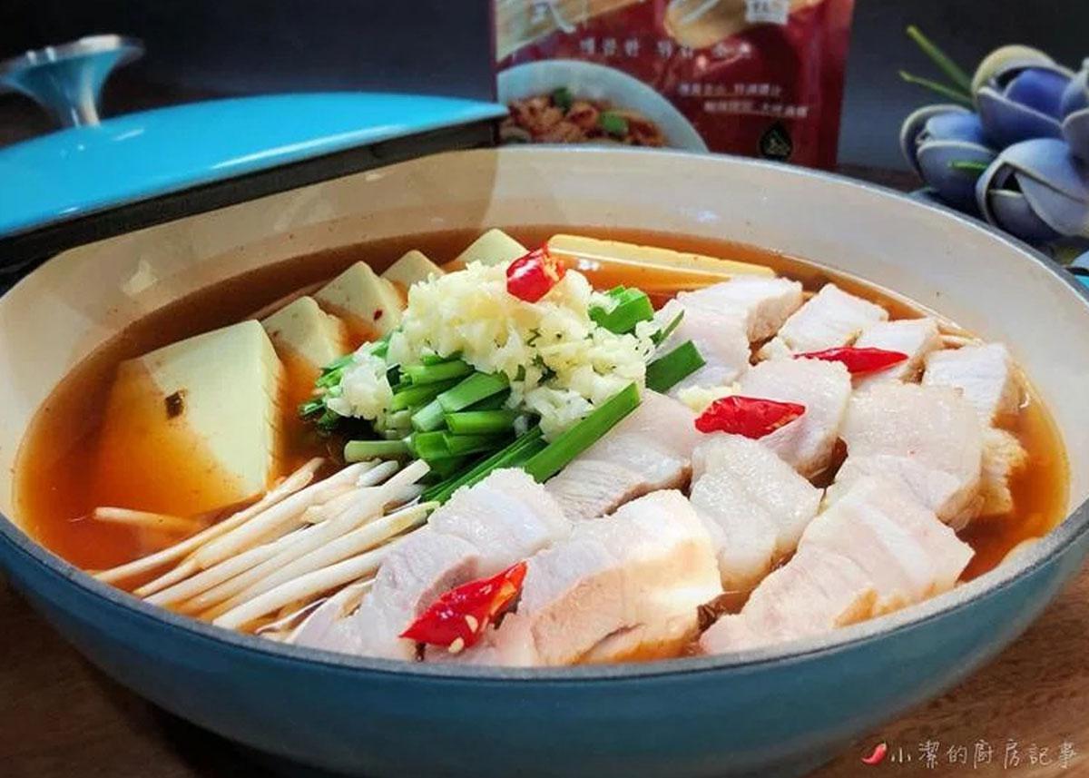 中元食譜,韓式豆腐鍋