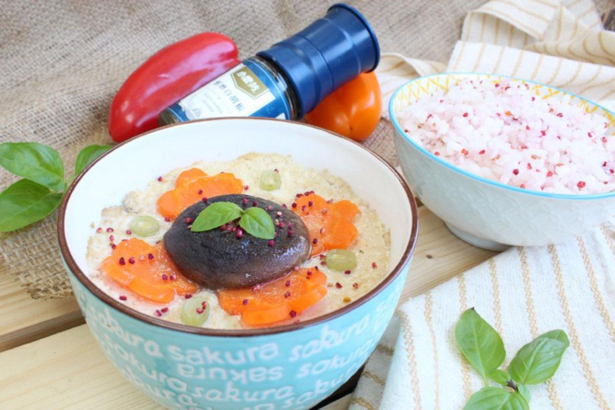 電鍋料理,電鍋料理食譜,電鍋料理減肥,鮮蔬蒸豆腐,藜麥飯