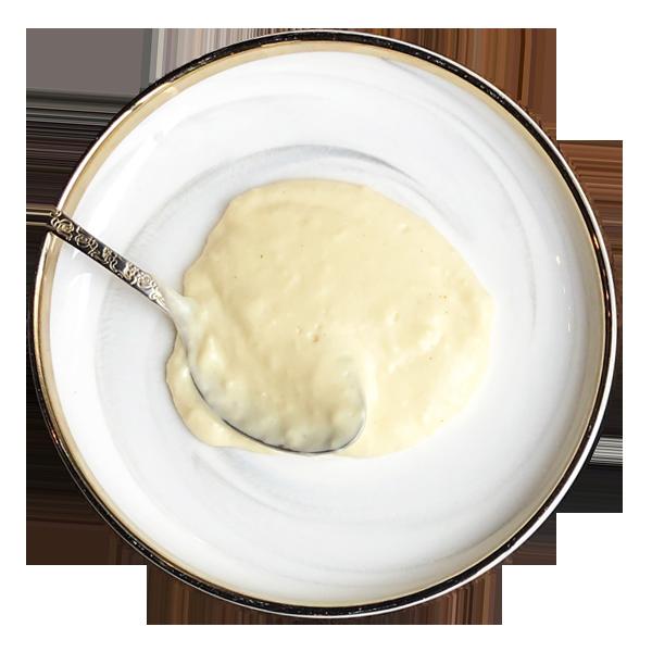 經典三醬,白醬
