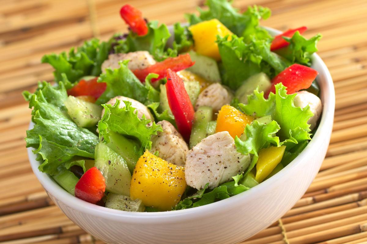 電鍋料理,電鍋料理食譜,電鍋料理減肥,雞肉生菜沙拉